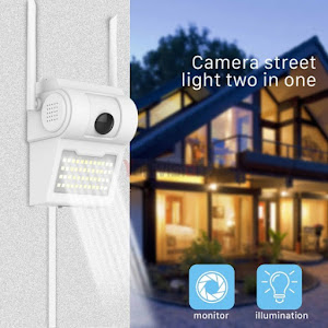 Camera video de supraveghere IP Wireless cu lampa 32 LED