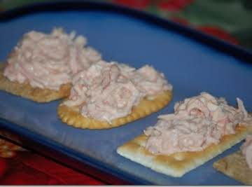 IMITATION CRAB DIP (Great stuff!)