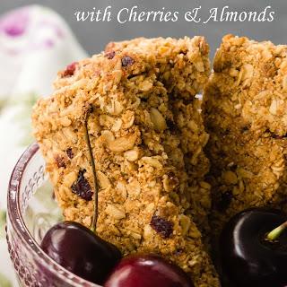 Cherry Almond Granola Bars.