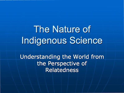 indigenous concepts of science ppt native american science curriculum