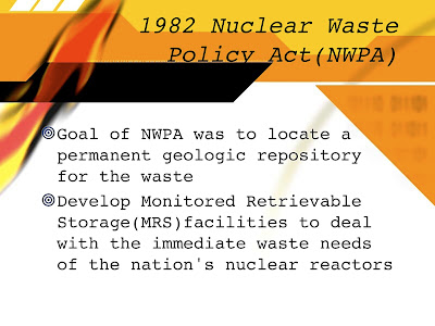 the importance of the issue of radioactive wastes Since cs is one of the most soluble and hazardous radioactive ions, its containment is of great importance in safe radioactive waste disposal presence of vermiculite in a shale body may, therefore, serve as one criterion in the selection of a suitable shale for radioactive waste disposal if and when shales in geologically stable areas are .