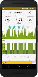 Sleep as Android: Wecker mit Schlafzyklen Screenshot