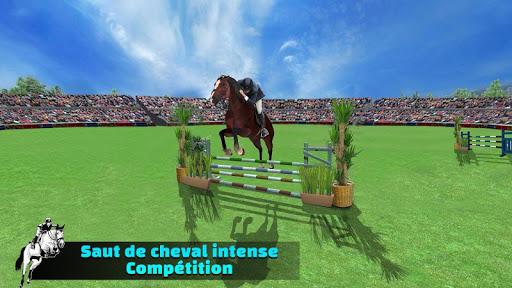 Télécharger Gratuit Simulateur de saut de cheval 2020 mod apk screenshots 1