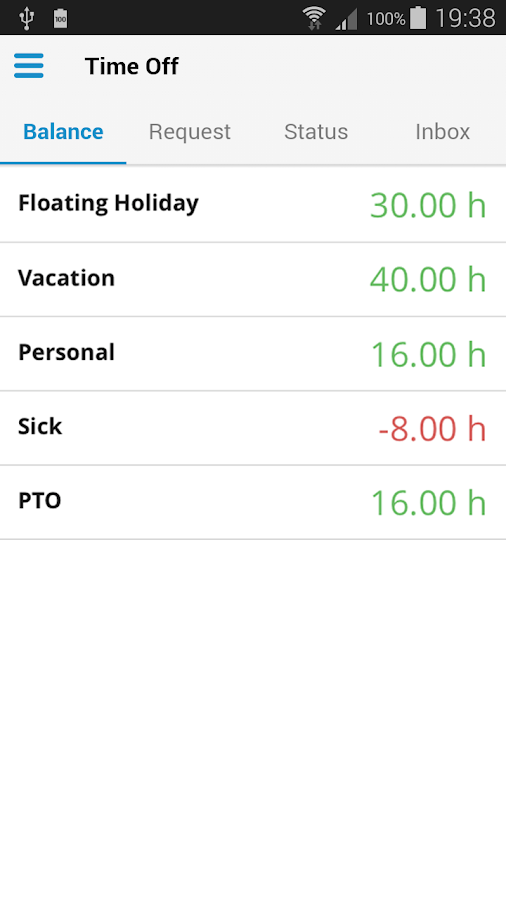 Paylocity Mobile- screenshot