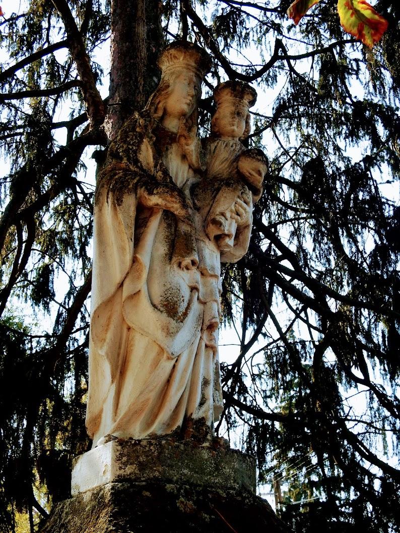 Bő - Szűz Mária a kisded Jézussal