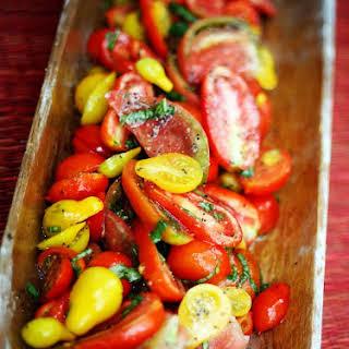 Fresh Tomato Salad.