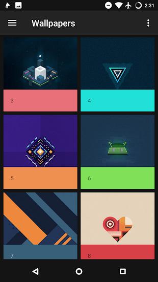 Harper Dark - Square Icon Pack- screenshot thumbnail