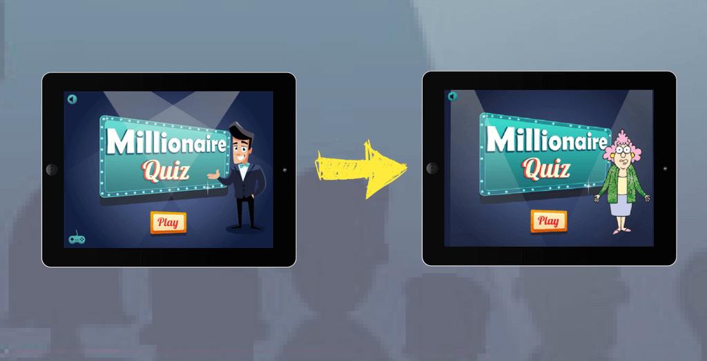 HTML5 Millionaire Quiz Game for 11 million followers