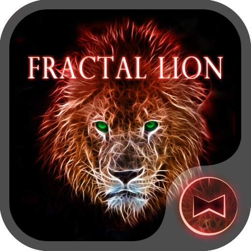 Fractal Lion  Wallpaper Icon