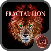 Fractal Lion  Wallpaper