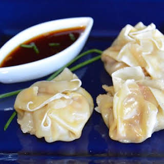 Steamed Sew Mai Dumplings.