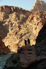 Photo: Backpackers, Grand Canyon, Arizona USA