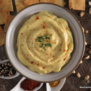 Creamy Curry Cashew Dip.
