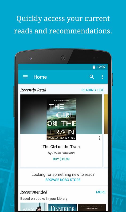 Kobo Books - Reading App screenshot #1