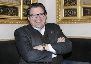 Photo: Interview mit Michael Schade am 10.3.2016 im Teesalon der Wiener Staatsoper (Interviewer: Dr. Renate Wagner). Copyright: Barbara Zeininger