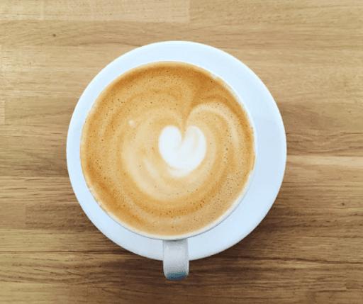 Yellow tucan Coffee shop Beautiful latte art