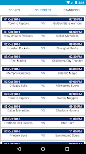 Basketball Scores NBA Schedule screenshot 0