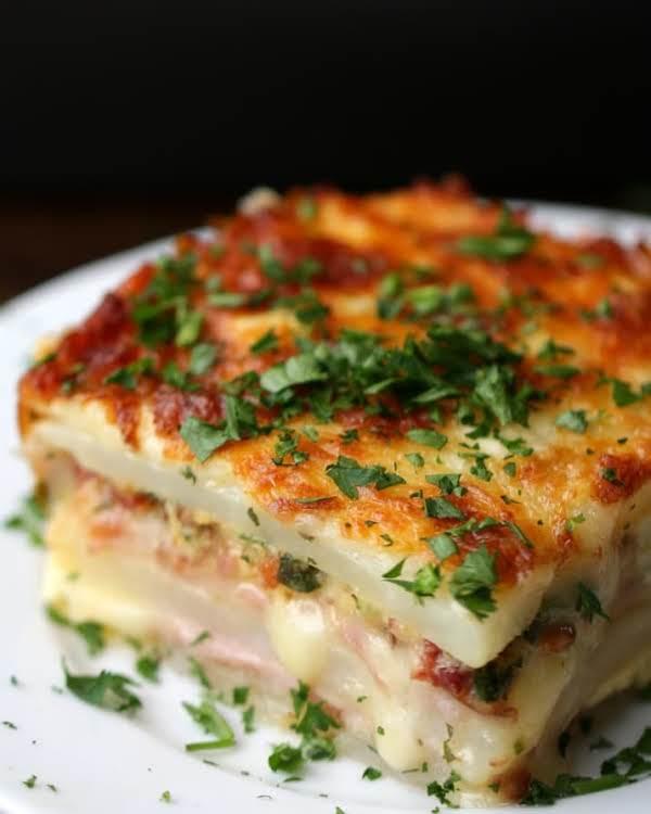 Layered Ham And Potato Casserole Recipe