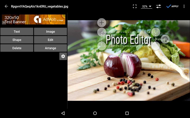 Photo Editor- screenshot