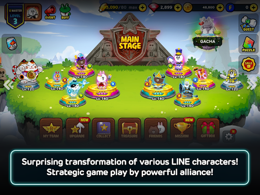 LINE Rangers - a tower defense RPG w/Brown & Cony! modavailable screenshots 7