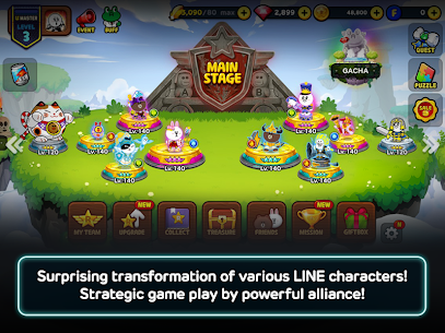 LINE Rangers – simple rules, exciting RPG battles! 7