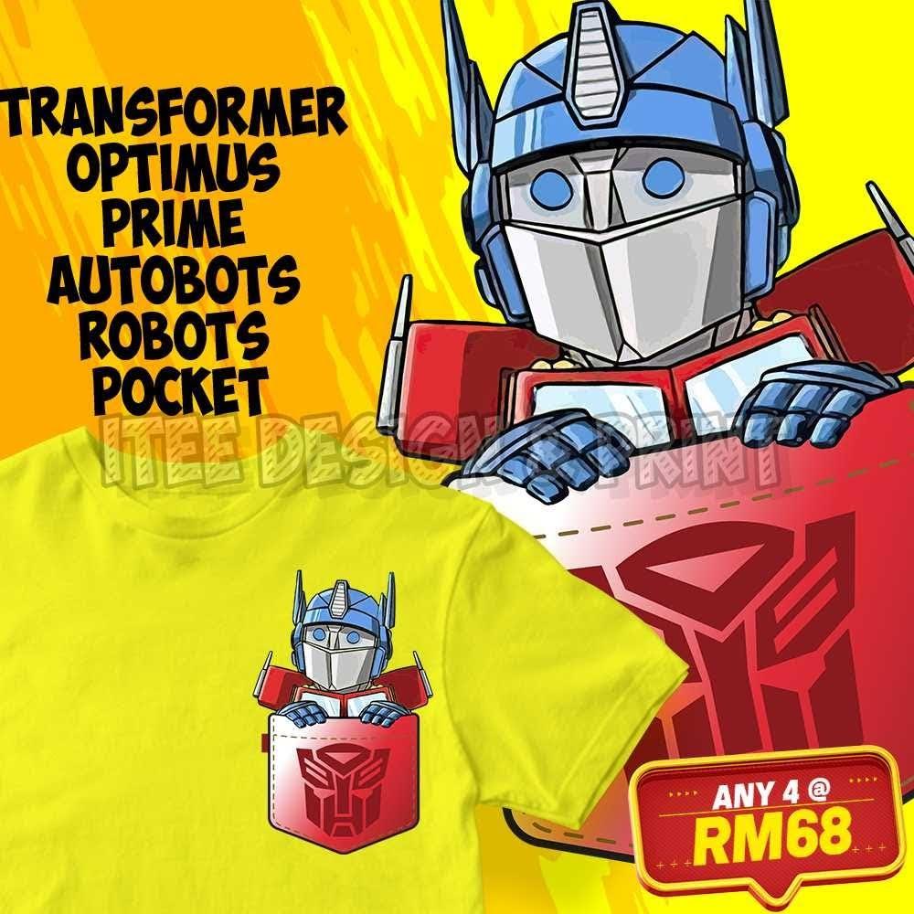 Transformer Optimus Prime Autobots Robots Pocket