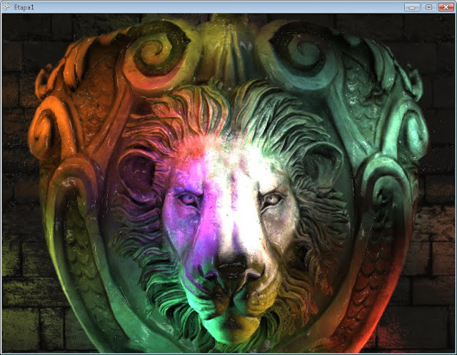 Dynamic Light - Lion Logo