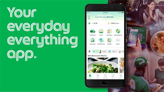 Grab - Transport, Food Delivery, Payments 5.71.0