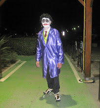 Photo: Thierry notre GO pour cette soirée, déguisé en clown pour l'occasion !