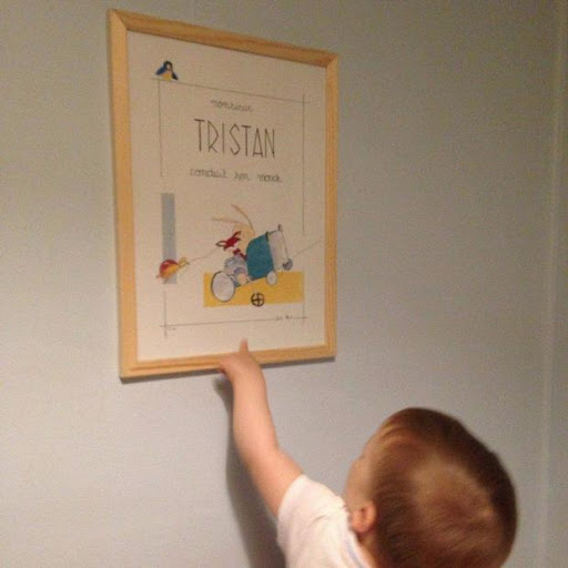 Tristan conduit son monde