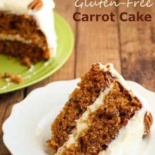 Gluten-Free Carrot Cake with Whipped Cream Cheese Buttercream Frosting