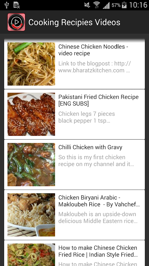 Top cooking recipes videos android apps on google play top cooking recipes videos screenshot forumfinder Image collections