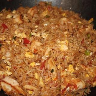 Thai Chicken Fried Rice.