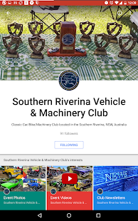 SRVMC - Club App- screenshot thumbnail
