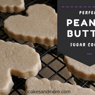 Perfect Peanut Butter Sugar Cookies.