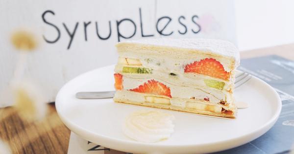 稍甜Syrupless人氣千層蛋糕專賣店,享受繽紛水果千層蛋糕的甜蜜時刻!台北小巨蛋下午茶甜點