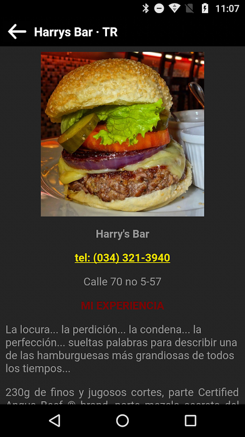 Food Map Colombia- screenshot