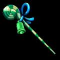 緑のロリポップステッキA