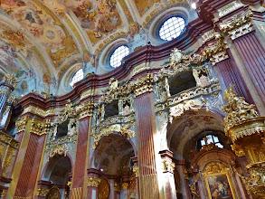 Photo: Kloster Melk: Siftskirche St. Petrus und Paulus: Seitengalerie