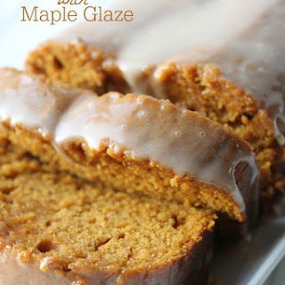 Pumpkin Bread with Maple Frosting