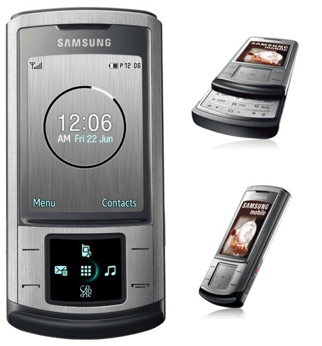 Prices and specifications Samsung SGH-U900