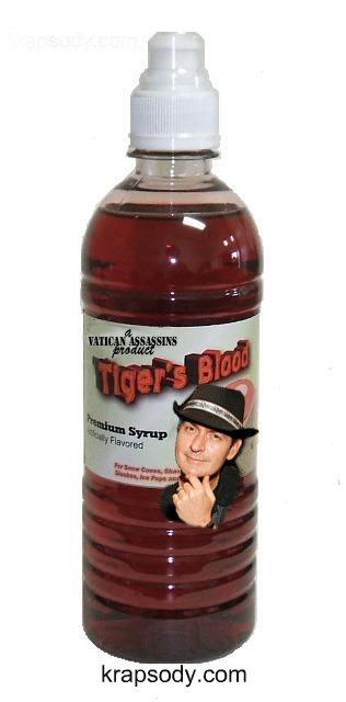 Tiger Blood Energy Drink by Charlie Sheen
