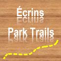 Trails of Écrins Nation. Park icon