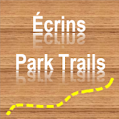 Trails of Écrins Nation. Park