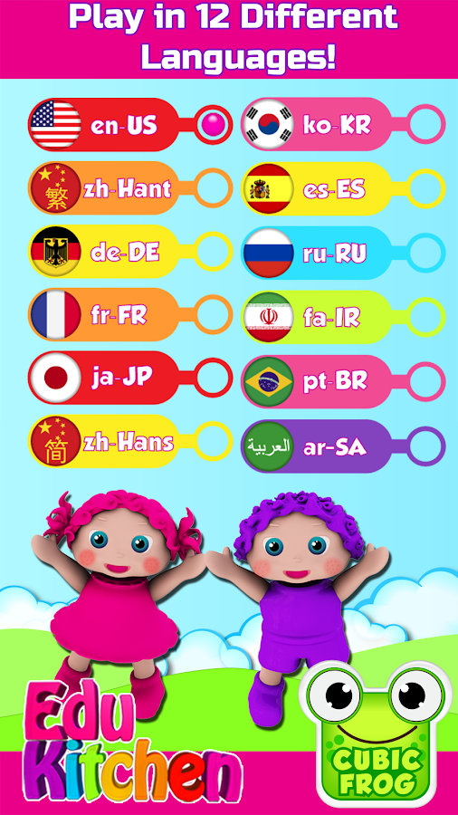 Toddler Kitchen Food Cooking Games Edukitchen Girl Android Apps On Google Play
