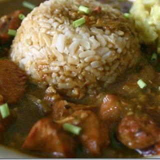 Chicken & Sausage Gumbo (Pressure Cooker)