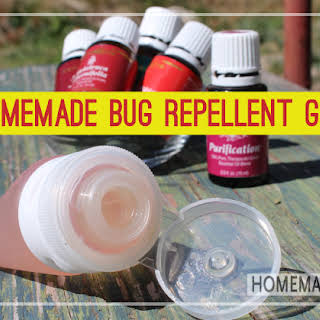 Homemade Bug Repellent Gel.