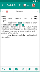 English-polish & Polish-english offline dictionary- screenshot thumbnail