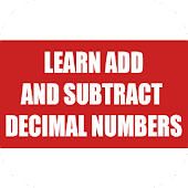 Learn Add and Subtract Decimal Numbers 2