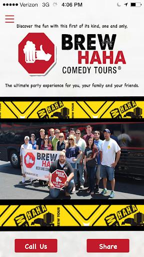 BrewHaHa Comedy Tours